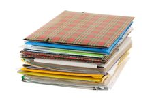Free Stack Of Folders Stock Photos - 3712953