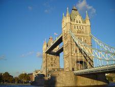 Free Tower Bridge Stock Photography - 3713252