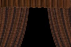 Free Red Curtains Stock Images - 3713314