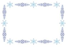 Free Ornament Winter Frame Stock Photos - 3714083