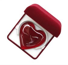 Free A Glassy Purple Heart In A Box 02 Stock Images - 3714524
