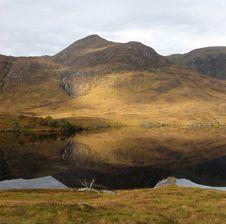 Free Mirror Lake In Autumn Colours Stock Image - 3714961