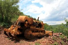 Free Crawler Dozer Royalty Free Stock Images - 3714989
