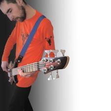 Free Bass Guitar Stock Photo - 3715100