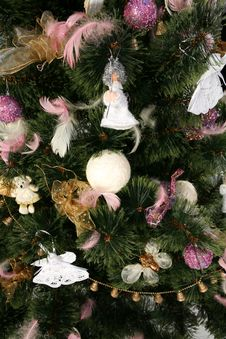 Free Christmas Tree - Close Up Stock Images - 3715814