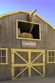 Free Wild West Cantina Royalty Free Stock Images - 3716049