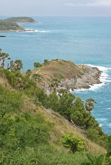Phuket Headland Stock Photo