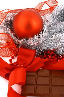 Free Xmas Chocolate Royalty Free Stock Photos - 3719828