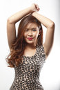 Free Asian Woman In Dress Standing Pose Royalty Free Stock Photography - 37110387