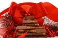 Free Xmas Chocolate Gift Royalty Free Stock Photo - 3720035