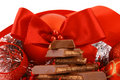 Free Xmas Chocolate Gift Stock Photos - 3720063