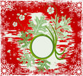 Free Christmas Abstract Vector Illustration Royalty Free Stock Image - 3720606