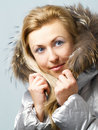 Free Girl In Fur Hood Royalty Free Stock Photos - 3723598