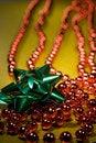 Free Red Christmas Beads Stock Photos - 3724583