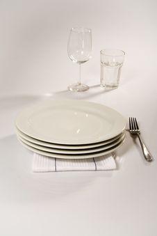 Free Dinnerware Stock Photo - 3721310