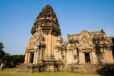 Free Pimai Stone Castle Royalty Free Stock Photography - 3721697