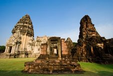 Free Pimai Stone Castle Royalty Free Stock Images - 3721729