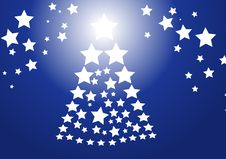 Free Blue Christmas Background Royalty Free Stock Photos - 3721748