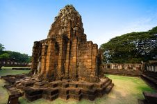 Free Pimai Stone Castle Royalty Free Stock Photo - 3721845