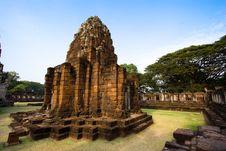 Free Pimai Stone Castle Stock Image - 3721861