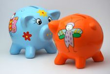 Free The Money Porks Stock Photography - 3721882