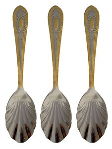 Free Three Sugar Spoons Royalty Free Stock Photos - 3721978