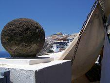 Free Village Of Fira On Santorini Stock Images - 3723424