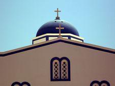 Free Greek Chapel Stock Image - 3723541