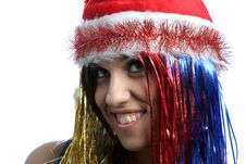 Free Christmas Girl Royalty Free Stock Images - 3723829