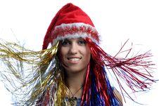 Free Christmas Portrait Royalty Free Stock Photos - 3723848