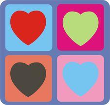 Free Retro Hearts Stock Photos - 3723993