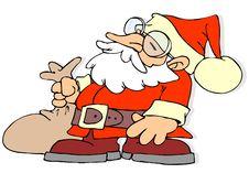 Free Santa Claus Cartoon Stock Photo - 3724050