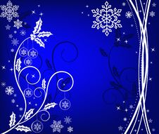 Free Christmas Background Vector Royalty Free Stock Photos - 3724288