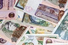 Free Uk Bank Notes Various Amounts Stock Photos - 3724373