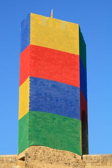 Free Coloured Tower Stock Photography - 3724502