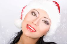 Free Beautiful Santa Royalty Free Stock Image - 3724846
