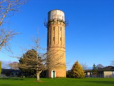 History Water Tower Stock Photography