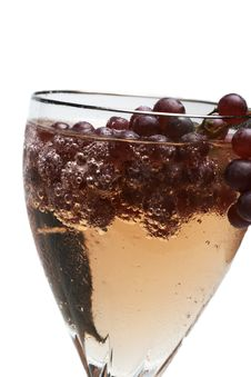 Free Champagne Grape Beverage Royalty Free Stock Photos - 3725578
