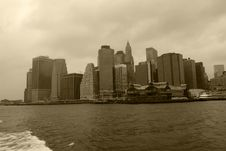 Free Skyline Manhattan Stock Photo - 3725710