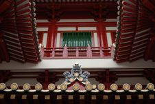 Free Beautiful Tang Dynasty Style Chinese Temple Stock Images - 3726204