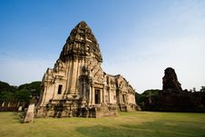Free Pimai Stone Castle Stock Photos - 3727153