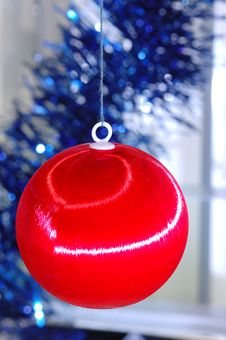 Free New-year`s Tree Decorations Royalty Free Stock Photo - 3727595