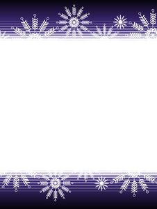 Free Purple Black Christmas Snowflake Background Royalty Free Stock Image - 3728046
