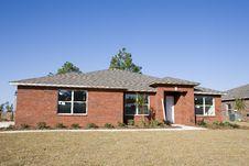 Free New Brick Home Stock Image - 3728241