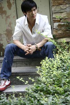 Free Chinese Man Stock Image - 3728661