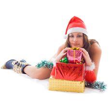 Free Christmas Portrait Royalty Free Stock Photos - 3728998
