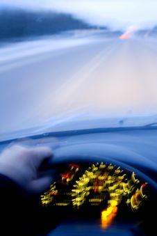 Free Speeding Car Stock Image - 3729141