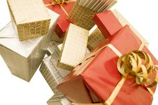 Free Gift S Pile Stock Photos - 3729443