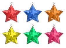 Free Jewel Colorful Stars Stock Photos - 3729523