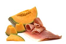 Free Delicacy -melon And Meat Stock Photo - 3730050